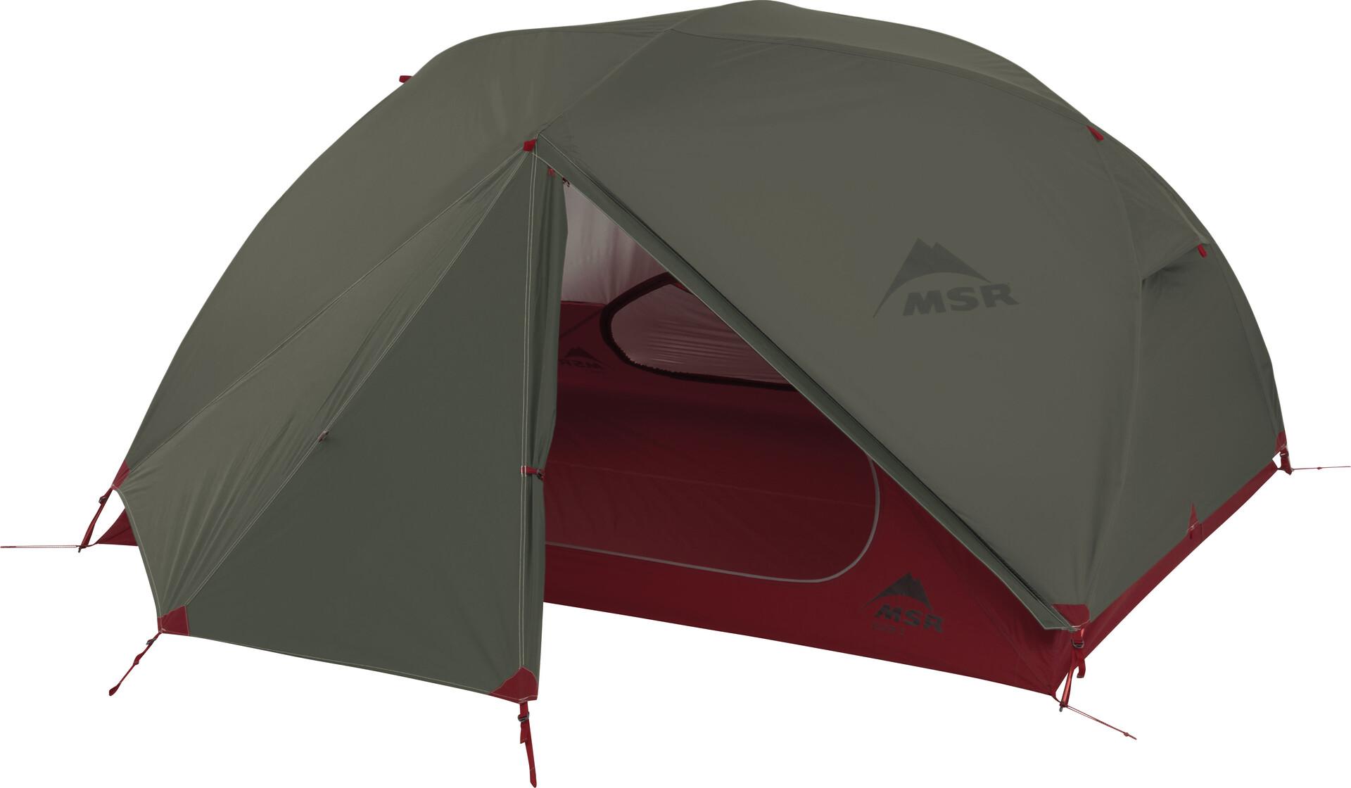 MSR Elixir 3 Tent with Footprint green   Gode tilbud hos